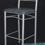 Image Stool with back - 115184